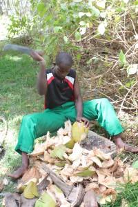 46. Kokosnoot ontschillen