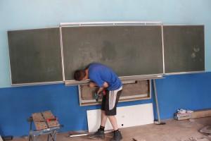 106. Het eerste schoolbord