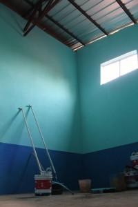 114. Weer een ruimte geschilderd